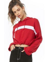 864bf8b1f4992 Forever 21 Metallic-brushed Sweatshirt in Metallic - Lyst