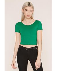Forever 21 - Surplice-back Top - Lyst