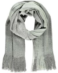 Forever 21 | Fringed Oversized Plaid Scarf | Lyst