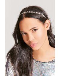 Forever 21 - Faux Gemstone Elastic Headband - Lyst