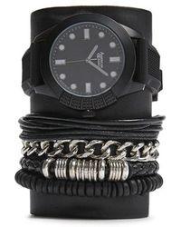 Forever 21 - Men American Exchange Watch & Bracelet Set - Lyst