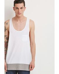 Forever 21 | Colorblocked Racerback Tank | Lyst