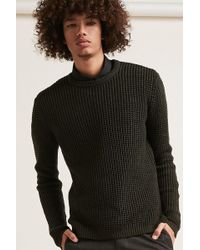 Forever 21 - Waffle-knit Jumper - Lyst