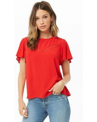 Forever 21 - Lace-trim Top - Lyst