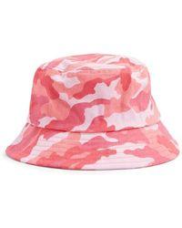 668dd61b2 Camo Print Bucket Hat