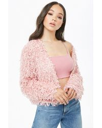 Forever 21 - Motel Feathered Jacket - Lyst