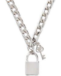 Forever 21 - Chunky Charm Bracelet - Lyst