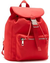 Forever 21 - Drawstring Flap Top Backpack - Lyst