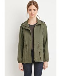 Forever 21 - Classic Utility Jacket - Lyst