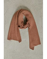 Forever 21 - Ribbed Panel Scarf - Lyst