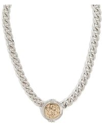 Forever 21 - Etched Angel Chain Necklace - Lyst
