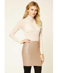 1198f5c740 Forever 21 Contemporary Genuine Suede A-line Skirt You've Been Added ...