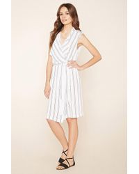Forever 21 - Women's Contemporary Striped Dress - Lyst