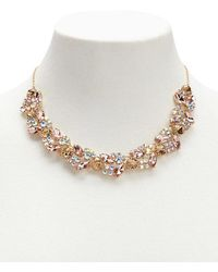 Forever 21 - Faux Gemstone Statement Necklace - Lyst
