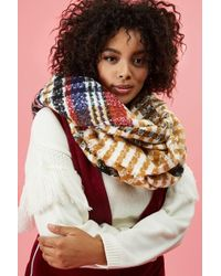 Forever 21 - Variegated Striped Oblong Scarf - Lyst
