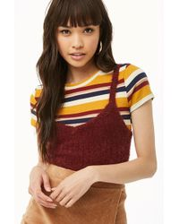 Forever 21 - Fuzzy Jumper-knit Top - Lyst