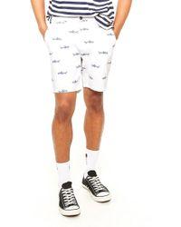 Forever 21 - Shark Print Shorts - Lyst