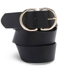 Forever 21 - Faux Leather Buckle Belt - Lyst