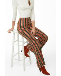 Forever 21 - Multicolor Striped Palazzo Pants - Lyst