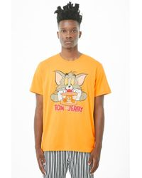 Forever 21 - 's Tom & Jerry Graphic Tee - Lyst