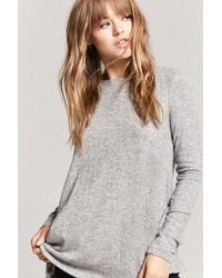 Forever 21 - Marled Swing Top - Lyst
