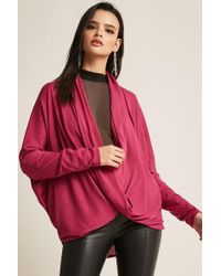 Forever 21 - Cowl Neck Top - Lyst