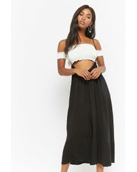 Forever 21 - Cami Wide-leg Overalls - Lyst