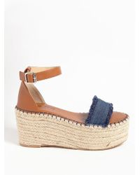 Forever 21 | Lemon Drop By Privileged Wedge Espadrille Sandals | Lyst