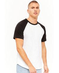 Forever 21 - 's Cotton Baseball Tee - Lyst