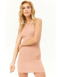 Forever 21 - Ribbed Mini Dress - Lyst