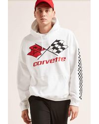 Forever 21 - Corvette Graphic Hoodie - Lyst