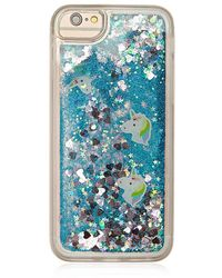Forever 21 - Glitter & Confetti Waterfall Case For Iphone 6/6s/7/8 - Lyst