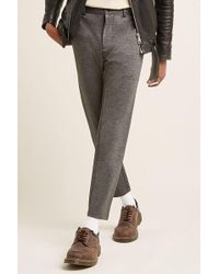 Forever 21 - Marled Knit Trousers - Lyst