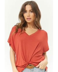 a7c92fb3646c3f Forever 21 Short Sleeve Peplum Top in Green - Lyst
