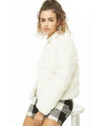 Forever 21 - Women's Faux Fur Coat - Lyst