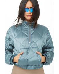 Forever 21 - Active Quilted Pullover - Lyst