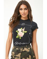 Forever 21 - The Chainsmokers Floral Graphic Tee - Lyst