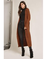 Forever 21 | Purl Knit Duster | Lyst