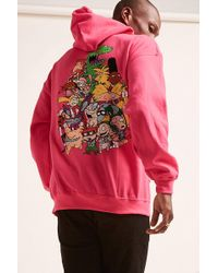 Forever 21 - Nickelodeon Neon Graphic Hoodie - Lyst