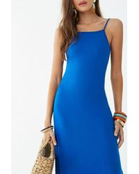 Forever 21 - Square Neck Maxi Dress - Lyst