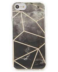 Forever 21 - Marble & Geo Metallic Case For Iphone 6/7/8 - Lyst