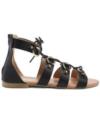 Forever 21 - Faux Leather Gladiator Sandals - Lyst