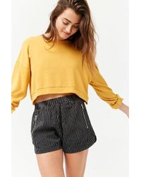 Forever 21 - Pinstripe Dolphin Shorts - Lyst