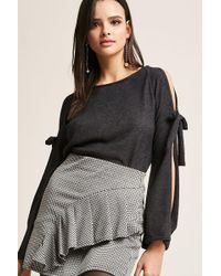 Forever 21 - Open-sleeve Knit Top - Lyst