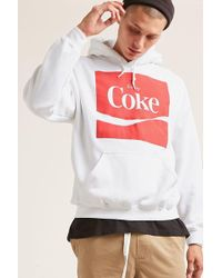 Forever 21 - Enjoy Coke Graphic Hoodie - Lyst