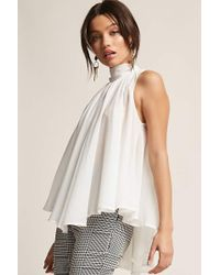 Forever 21 - Chiffon Trapeze Top - Lyst