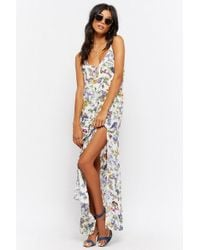 Forever 21 - Butterfly Print Maxi Dress - Lyst