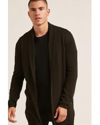 Forever 21 | Shawl Open-front Cardigan | Lyst