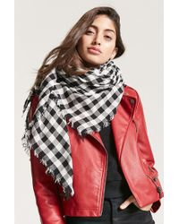 Forever 21 - Plaid Oblong Scarf - Lyst