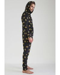 Forever 21 - Daffy Duck Plush Jumpsuit - Lyst